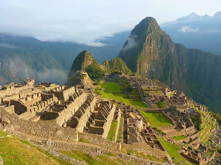 Machu picchu, Perú, Inca, Turisme, arquitectura