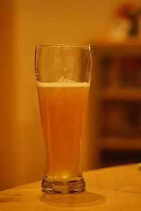 bier, witbier, Bierglas, bier drinken, dorst, verfrissing, drankje