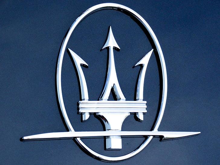 Maserati, logotip, marca de cotxes, model de noble, marca noble, personatges, marca