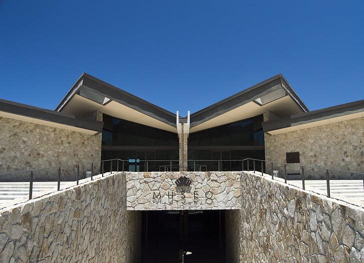 muuseum, veini, arhitektuur, hoone, sümmeetria