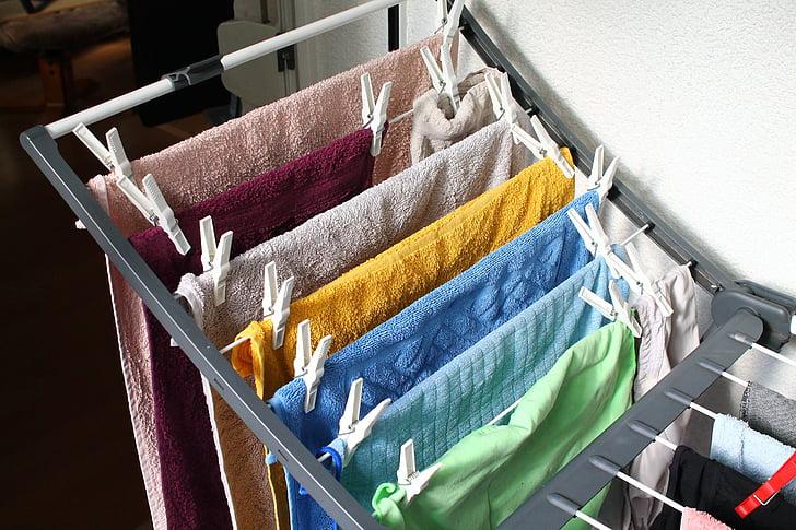 praonica rublja, suha, odjeća za robu, proračun, objesiti praonica rublja, odjeća peg, oprati