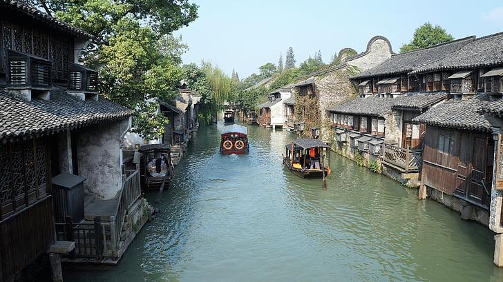 china, jiaxing, wuzhen