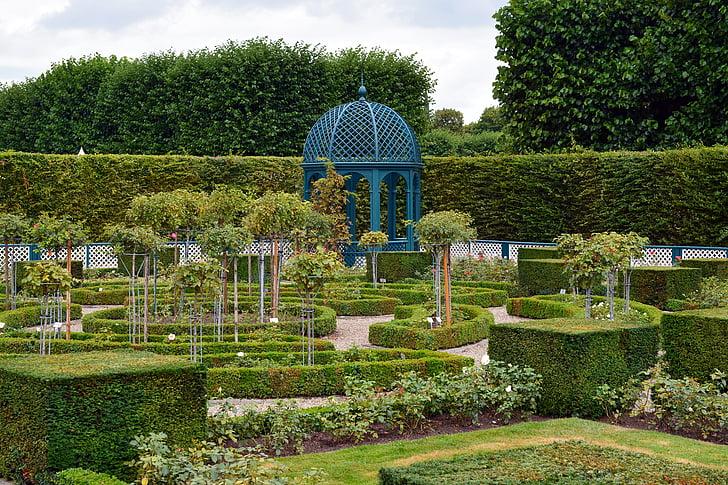 parku, zahrada, zahradní design, Herrenhäuser gardens, Hanover, zahradnictví, použit