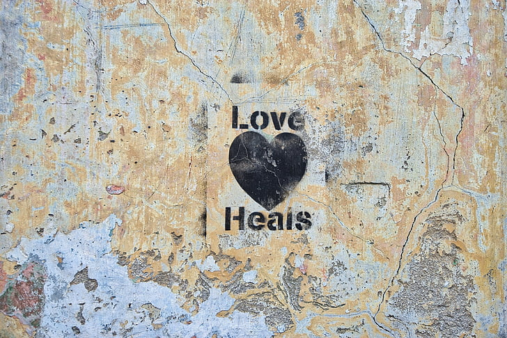 láska, liečenie, znamenie, graffiti, zábava, emócie, Valentine