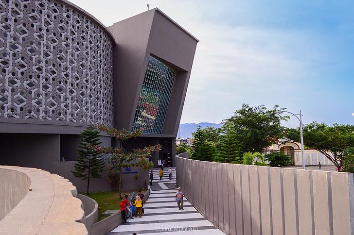 Museu, tsunami, banda aceh, arquitectura, punt de referència, edifici, disseny d'arquitectura