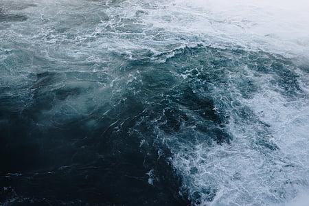 ทะเล, โอเชี่ยน, น้ำ, คลื่น, ธรรมชาติ, คลื่น, สีฟ้า