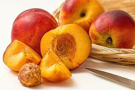 cây lê, đào, trái cây, rụng lá, juicy, Ngọt ngào, màu vàng