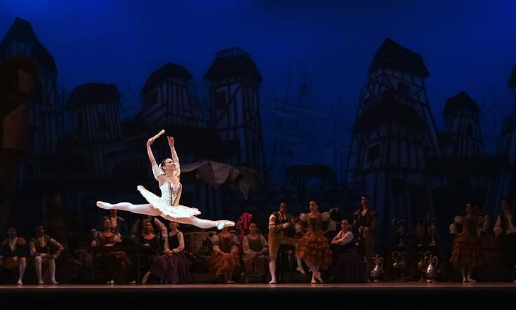 балет, Дон Кихот, Балерина, производительность, исполнитель, танцовщица, танцы