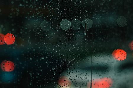 abstract, art, blur, bokeh, color, drop, glass