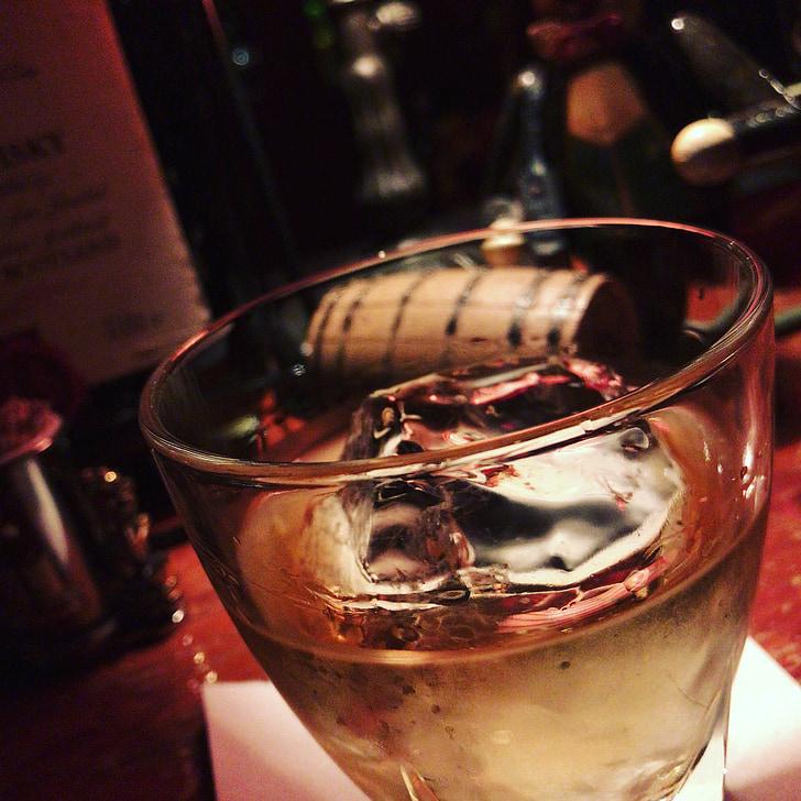 likööri, alkoholi, lukk, Baar