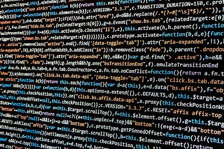 close-up, code, coding, computer, computing, conceptual, data