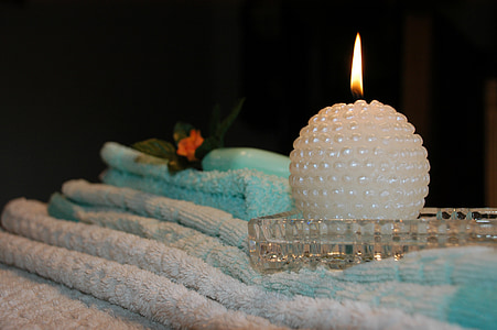 Kerze, Wellness, Rest, Flamme, Schatten, Meditation, Entspannung