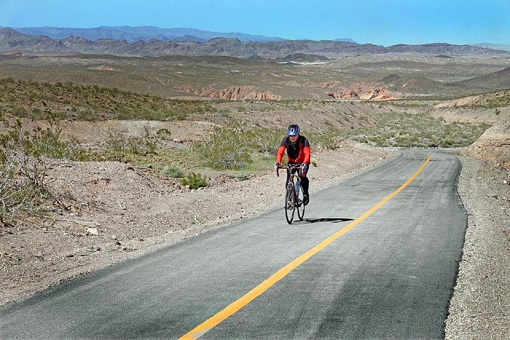 đi xe đạp, ngựa, xe đạp, tay đua xe đạp, hoạt động, Lake mead, khu vực giải trí quốc gia