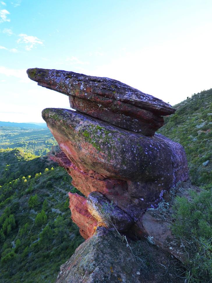 Rock, utgående, Mountain, erosion, naturen, Rock - objekt, sten - objekt