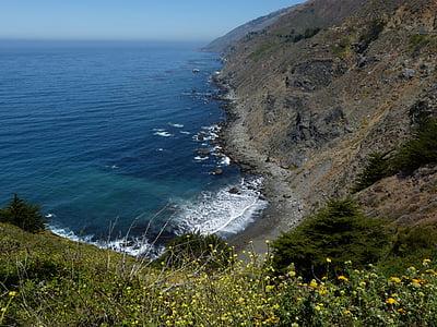 Itinerari 1, Califòrnia, nord de Califòrnia, autopista de la Costa del Pacífic, paisatge, del Pacífic, oceà