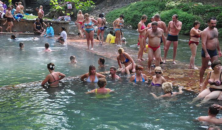varmekilde, Radon kilde, bading, masse bading, ferie, kilde i Himalaya, behandling