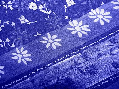 pozadina, tkanina, Uzorci, plava, tekstura, tekstilna, pozadina