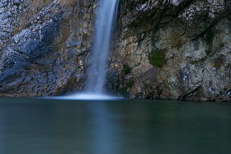 vee, juga, loodus, väike juga, veed, Kosed, maastik