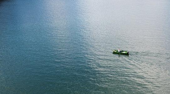eau, canoë, canoë-kayak, Lac, bateau, Aviron, Loisirs