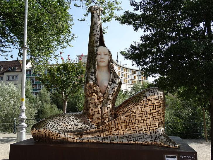 sculpture, statue, art, woman, naked, erotic, buddha