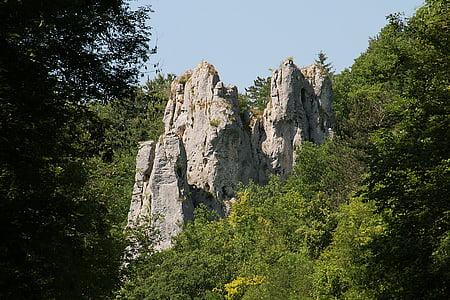 batu, Roche, pendakian, panjat tebing, pendakian gunung, Lembah, Yonne
