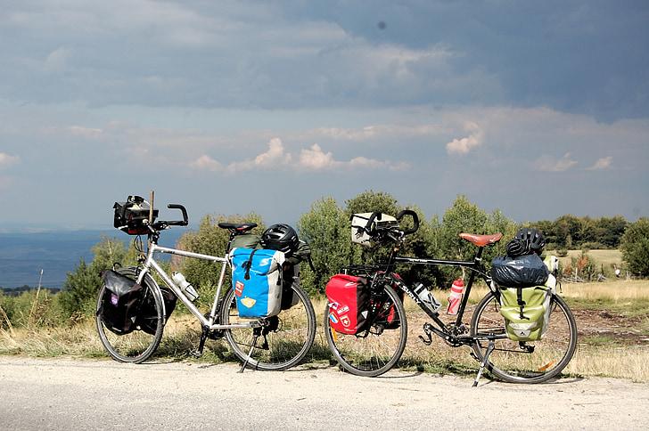 xe đạp, đi du lịch, xe đạp, chuyến đi
