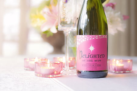 vi, dia de Sant Valentí, l'amor, vacances, Sant Valentí, celebració, romàntic