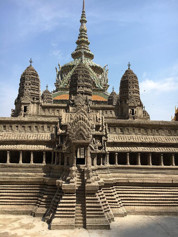 great palace, grand palace, asia, thailand, bangkok, places of interest, travel
