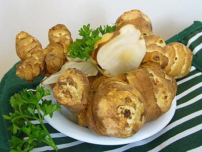 Ingvers, pārtika, ēdiena gatavošanai, veselīgi, sastāvdaļas, garšvielas, Āzijas valodu
