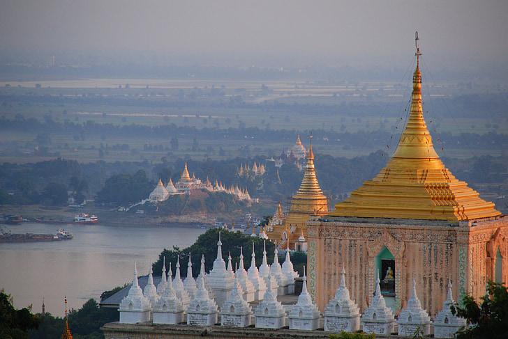 Barma, chrám, Mjanmarsko, Príroda, stupa