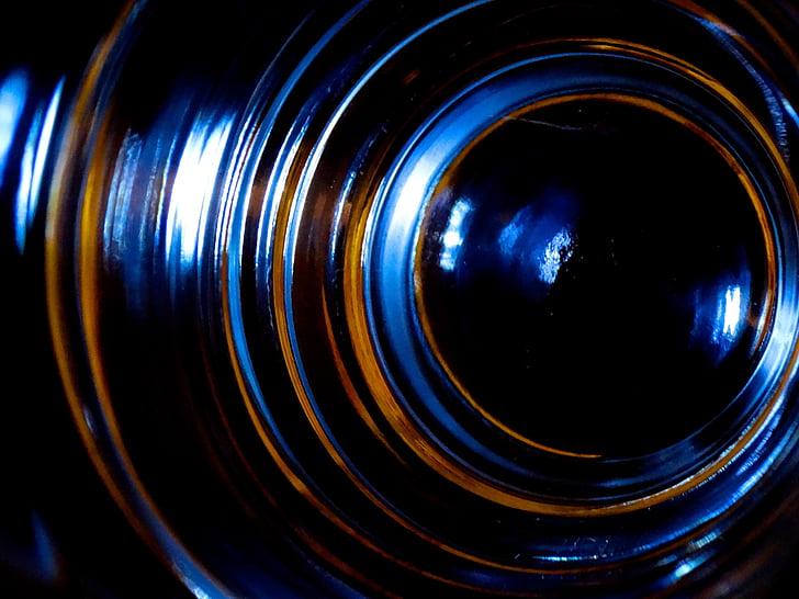 vidre, torna la llum, brillant, color