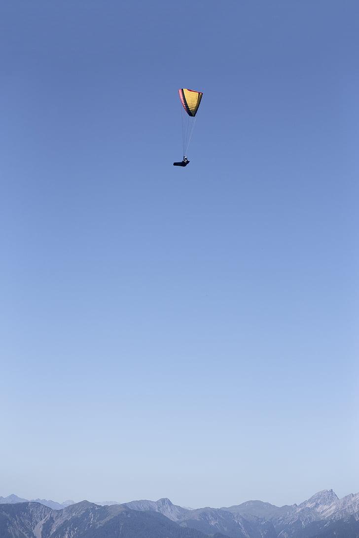 fly, paragliding, dom, hobby, flight, leisure, sky