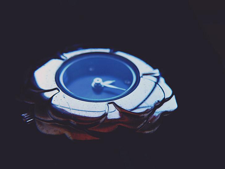 veure, temps, rellotge de canell, Dial, les mans, plata, joia