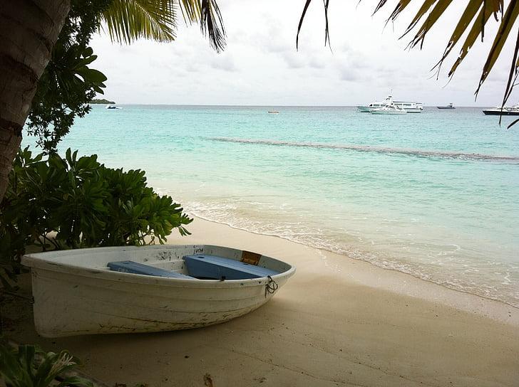 maldives, landscape, beach