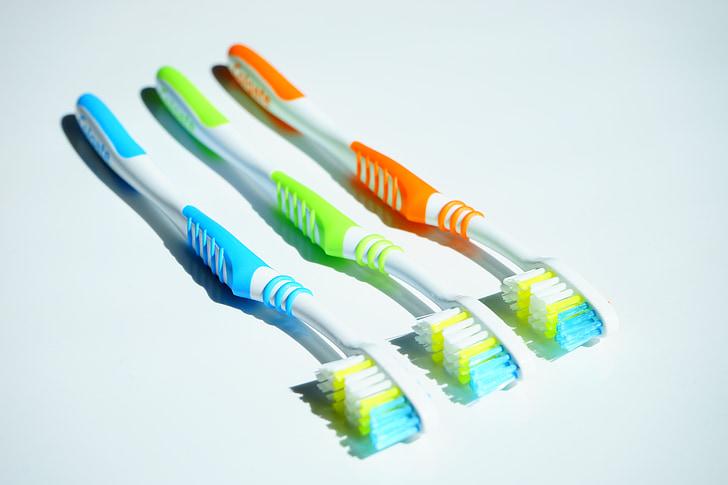 hambaharjad, hügieeni, hambaravi, Puhastage, suuhügieen, hambaharja pea, Ole tänatud