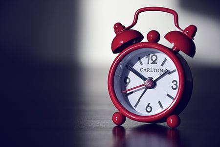 modinātājs, pulkstenis, laiks, minūte, stunda, modina, bimmeln