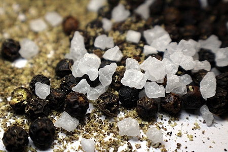 pipar, soola, terad, terad sool, hooaja, köök, vürtsid