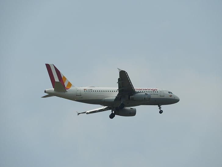 lähestymistapa, Saksan wings, lasku, ilma-aluksen, Flyer