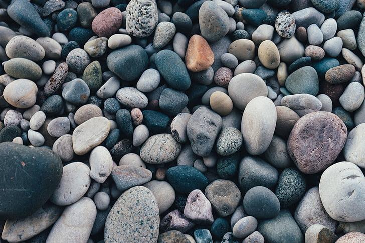sten, småsten, Rocks, Shore, Pebble, Rock - objekt, naturen