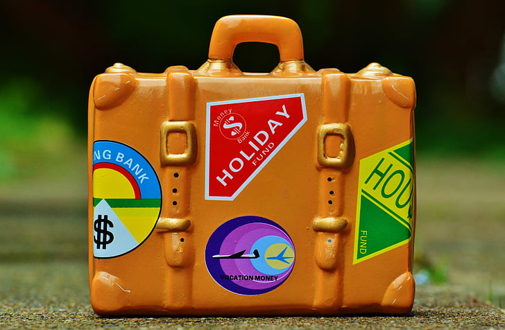 luggage, travel, holiday, go away, travel fund, holidays