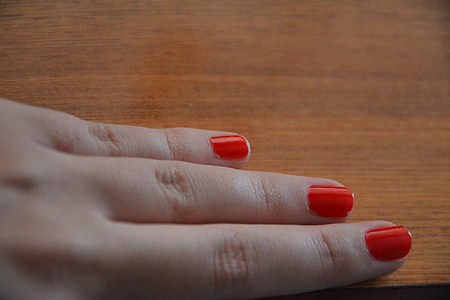 mà, el palmell de la mà, la mà, mans, ungles, l'ungla, pintura