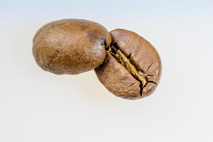 コーヒー, コーヒー豆, ロースト, カフェイン, マクロ, カフェ, 芳香族