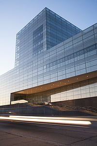 clear, glass, building, architecture, structure, modern, office building exterior