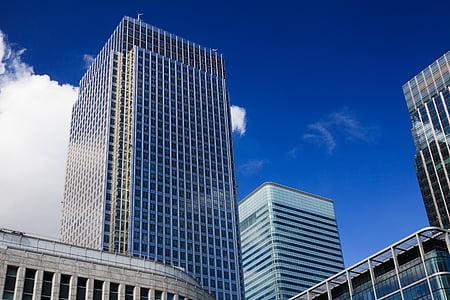 architecture, blue, building, business, city, construction, corporate