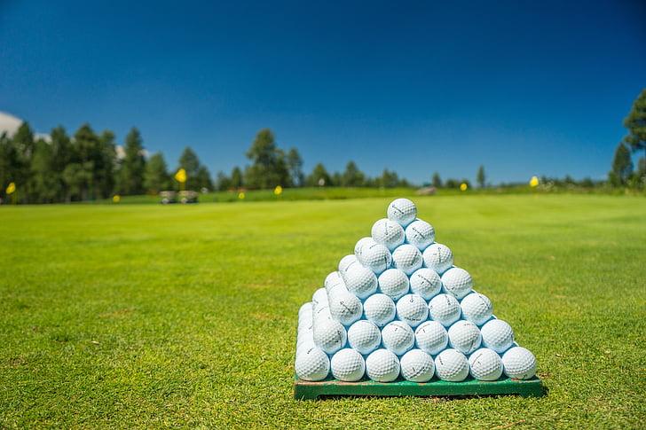 golf, green, course, club, golfing, golf ball, golf balls