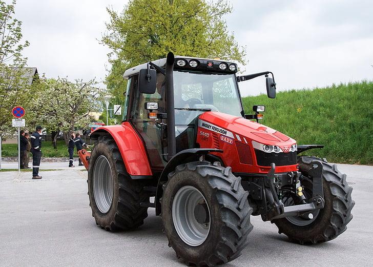 tractors, farmer, nature
