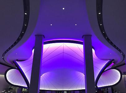 Muzeum techniky, světlo, instalace, Londýn, Muzeum, zajímavá místa, moderní