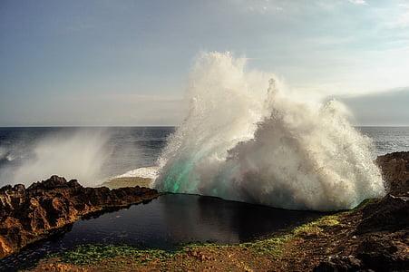 oceà, ones del mar, marí, costanera, platja, energia a la natura, l'aigua