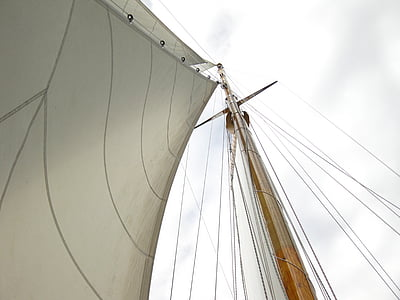 sail, mast, boat, sailing, nautical Vessel, sailboat, sailing Ship