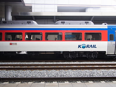 Korea, elektriska tåg, tåg